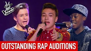 the voice kids   outstanding rap blind auditions