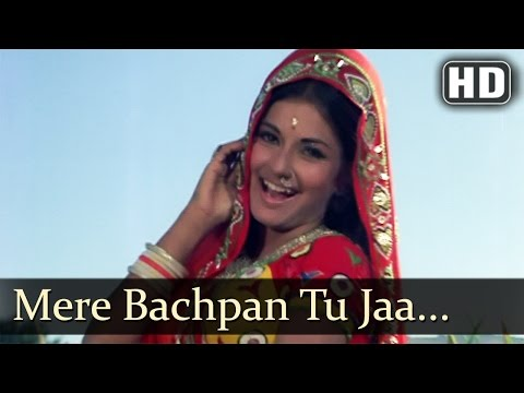 Mere Bachpan Tu Jaa Jaa - Moushmi - Kabir Bedi - Kachche Dhaage - Old Bollywood Songs