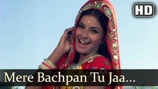 Mere Bachpan Tu Jaa Jaa - Moushmi - Kabir Bedi - Kachche Dhaage - Old Bollywood Songs