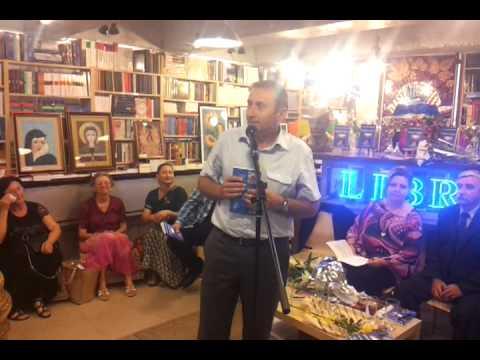 Libraria St O Iosif Brasov 2013- lansare Poarta lirica- vorbeste Marius Cisar