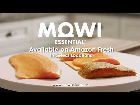 MOWI Essential Atlantic Salmon Available on Amazon Fresh