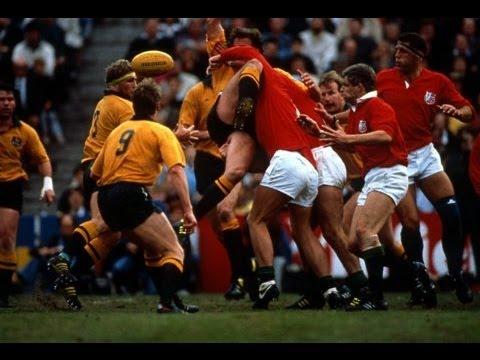 Australia vs British Irish Lions 1989 Highlights