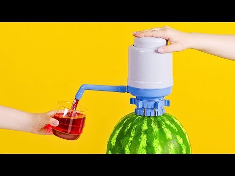 Как Сделать Разливной Автомат с Арбузным Соком