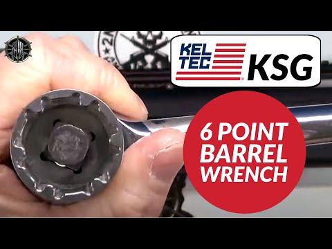 KEL TEC KSG 6 Point Barrel Nut Socket Wrench - KEL TEC KSG Disassembly - M*CARBO