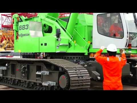 Sennebogen 683 HD Mobilization