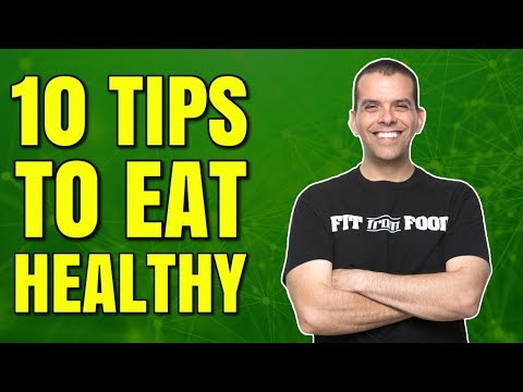 10 EASY HEALTHY EATING HACKS / HEALTHY HACKS