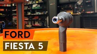 Hvordan bytte Viskermotor FORD FIESTA V (JH_, JD_) - online gratis video
