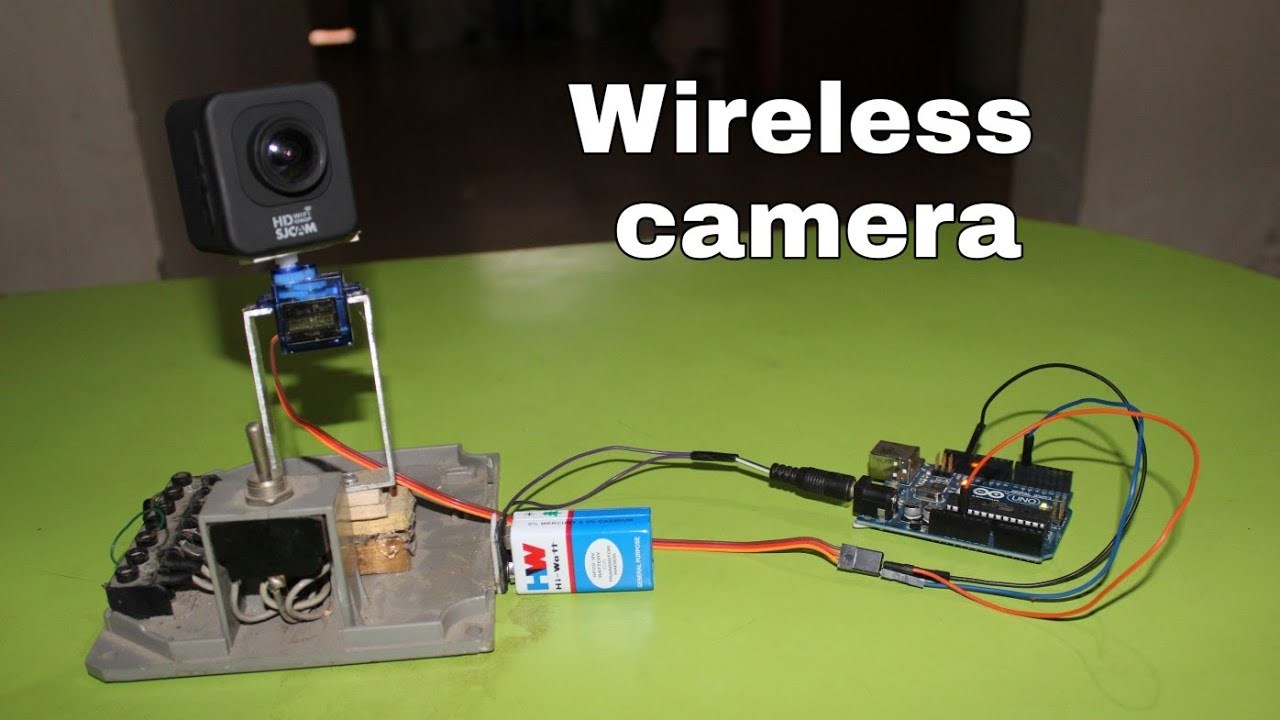 how to build a wireless camera