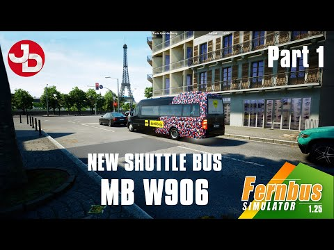 Driving the MB W906 on FERNBUS | PART 1 of 2 | Update 1.25 (with English commentary)