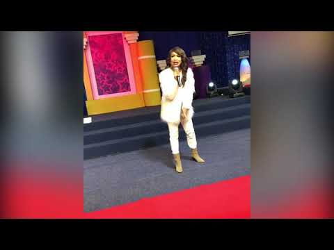 Tonto Dikeh Minister to a 7,000 - Congregation at Enlightened Christian Gathering in South Africa