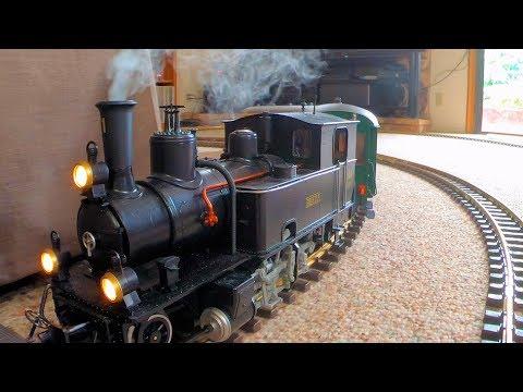 Rare Model Steam Train Runs Inside My House