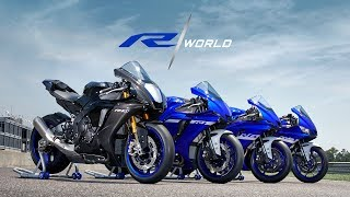 Your World. R World. The 2020 Yamaha Supersport Line.