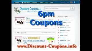 видео 6pm discount coupons