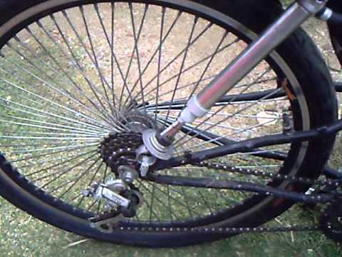 suspensao a ar melhorada na bicicleta