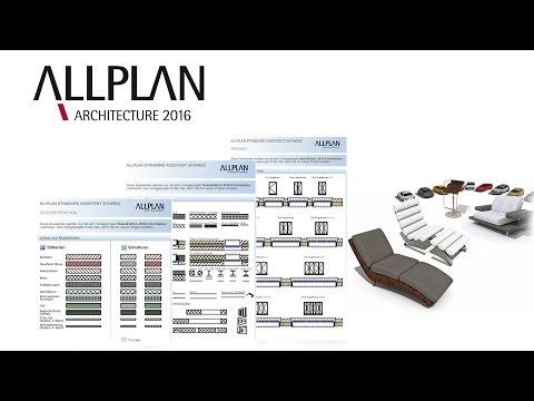 CAD / BIM-Software Allplan Architecture: SwissEdition 2016