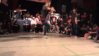 2on2 BGirl Battle BOTY international 2013 Jilou & Frost (GER) vs Mydie & Aurianne (FR)