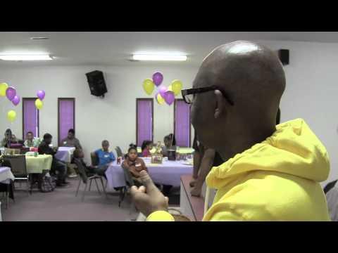 MrSan44Man @ His GreatGrandmothers B- Day Celebration In Pontiac MI (Detroit  Raw)