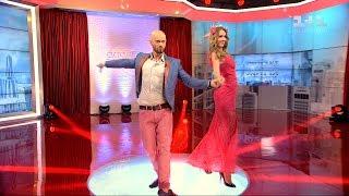 Танці з зірками в студії Світського життя: ча-ча-ча Влада Ями з Катериною Осадчою