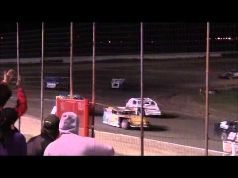 IMCA Sport Mods at Lubbock Speedway 4-10-15