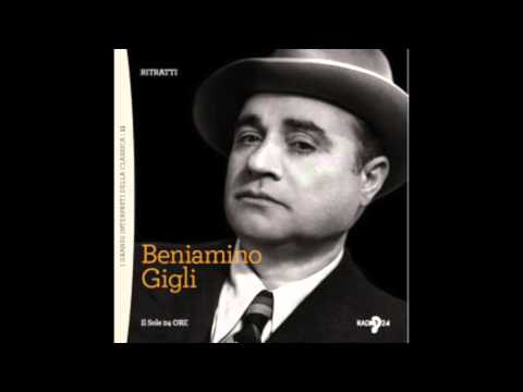 Beniamino Gigli E Lucevan Le Stelle Audio HQ