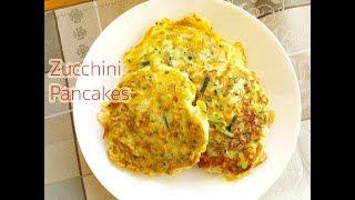 How to make Zucchini Pancakes : สูตรอาหารแพนเค้กซูกินี