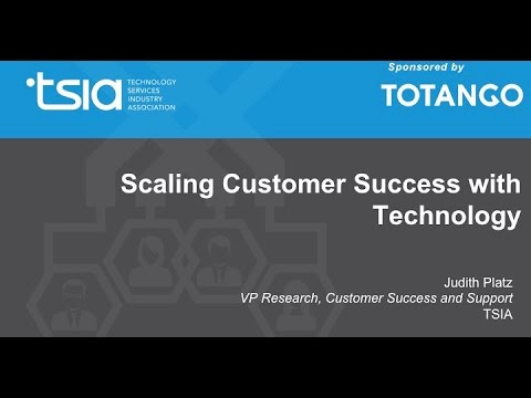 Scaling Customer Success with Technology