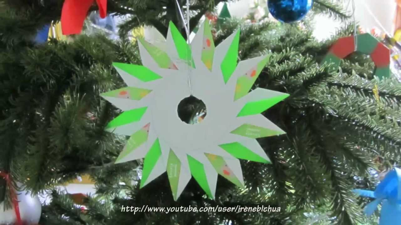 Papercraft INTRODUCTION - Rings & Wreaths for Christmas!