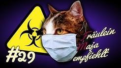 Keimschleuder Katze! Welche Krankheiten sind wirklich gefährlich? Fräulein Maja empfiehlt Teil 29