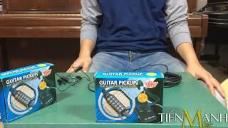 Giới Thiệu Về Acoustic Guitar Pickup QH-6B - Phần 1