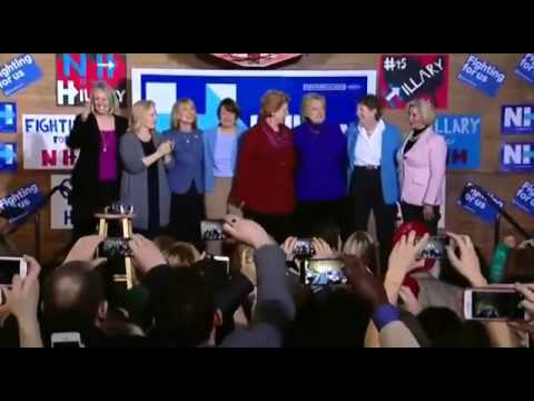 Hillary Clinton Dances To 'Fight Song' by Rachel Platten