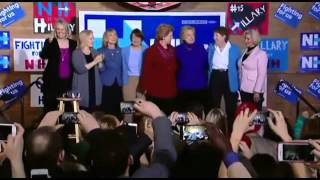 Hillary Clinton Dances To 'Fight Song' By Rachel Platten