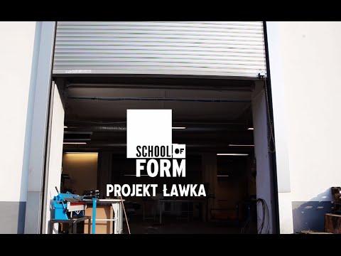 ławki na Dziedziniec Uniwersytetu SWPS - projekt studentów School of Form