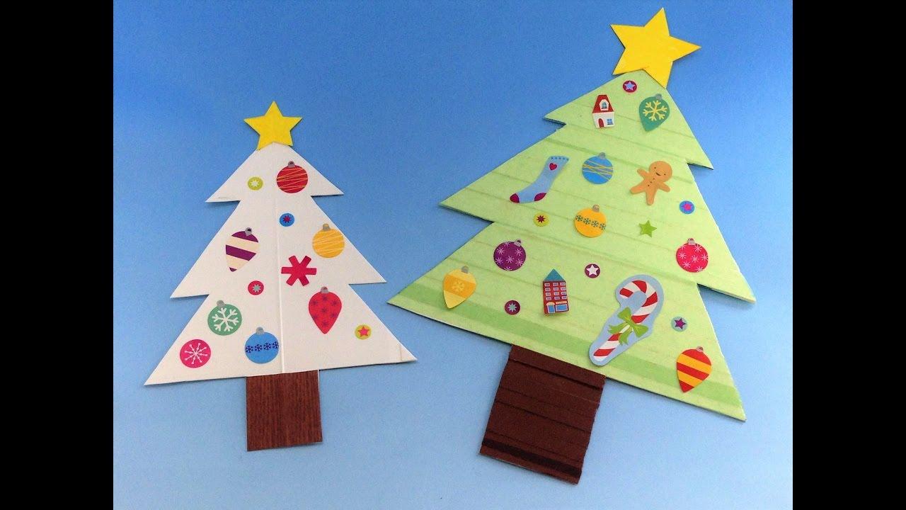 牛乳パック工作 \u201d遊べる\u201dクリスマスツリーの作り方 手作りおもちゃで遊ぼう