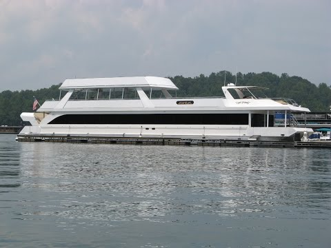 2009 Stardust 20 x 115WB Houseboat For Sale on Norris Lake TN by YourNewBoat.com