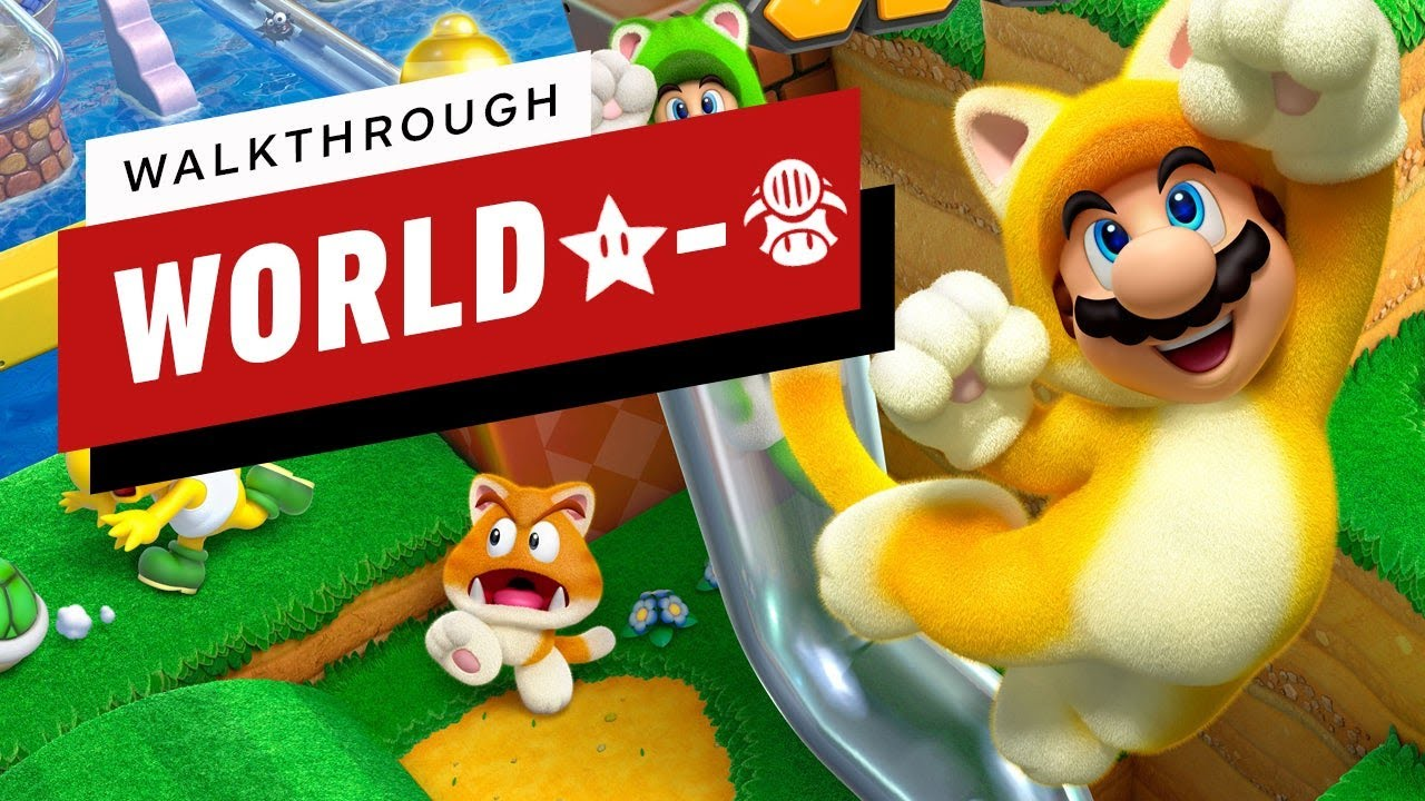 Download Super Mario 3D World Walkthrough - World Star-Toad: Captain Toad Takes a Spin