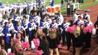 Georgetown Eagle Band 3rd Quarter Pep 10-7-16