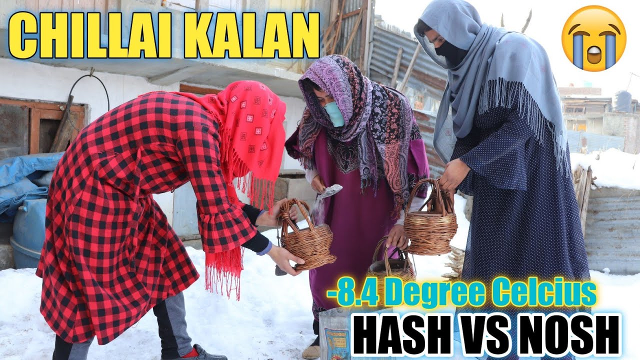 CHILLAI KALAN || WINTER PROBLEMS || HASH TE NOSH || BY ULTIMATE ROUNDERS