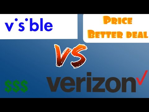 Visible Wireless VS Verizon Prepaid