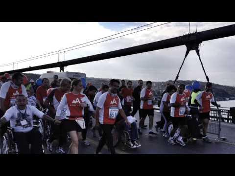 Global Week of Service, 34th Intercontinental Istanbul Eurasia Marathon Activity