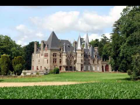 les plus beaux chateaux de france youtube. Black Bedroom Furniture Sets. Home Design Ideas