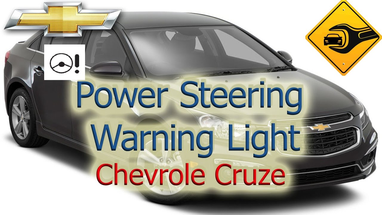 Electric Light Wiring Diagram Kitchenaid Stand Mixer Parts Power Steering Warning | Chevrolet Cruze 🚗🛠 - Youtube