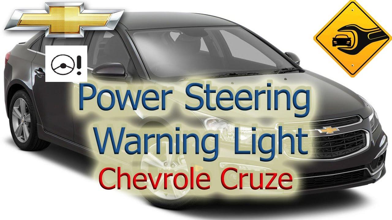 Power Steering Warning Light | Chevrolet Cruze | 🚗🛠  YouTube