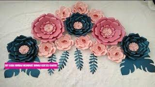 Download DIY Cara Mudah Membuat Bunga Dari Kertas Cantik Mp3