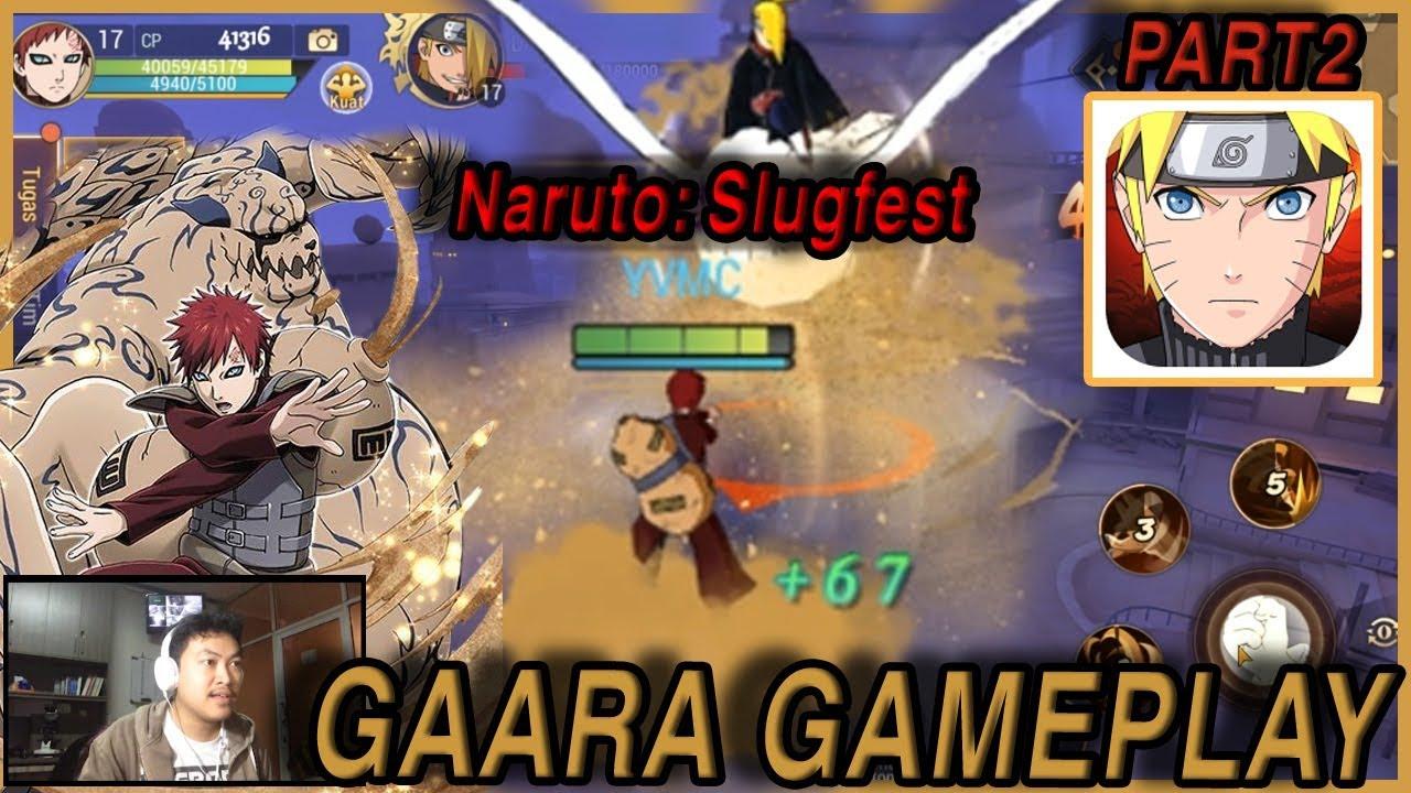 Naruto Slugfest - kazekage Gaara (Shukaku) Gameplay - YouTube