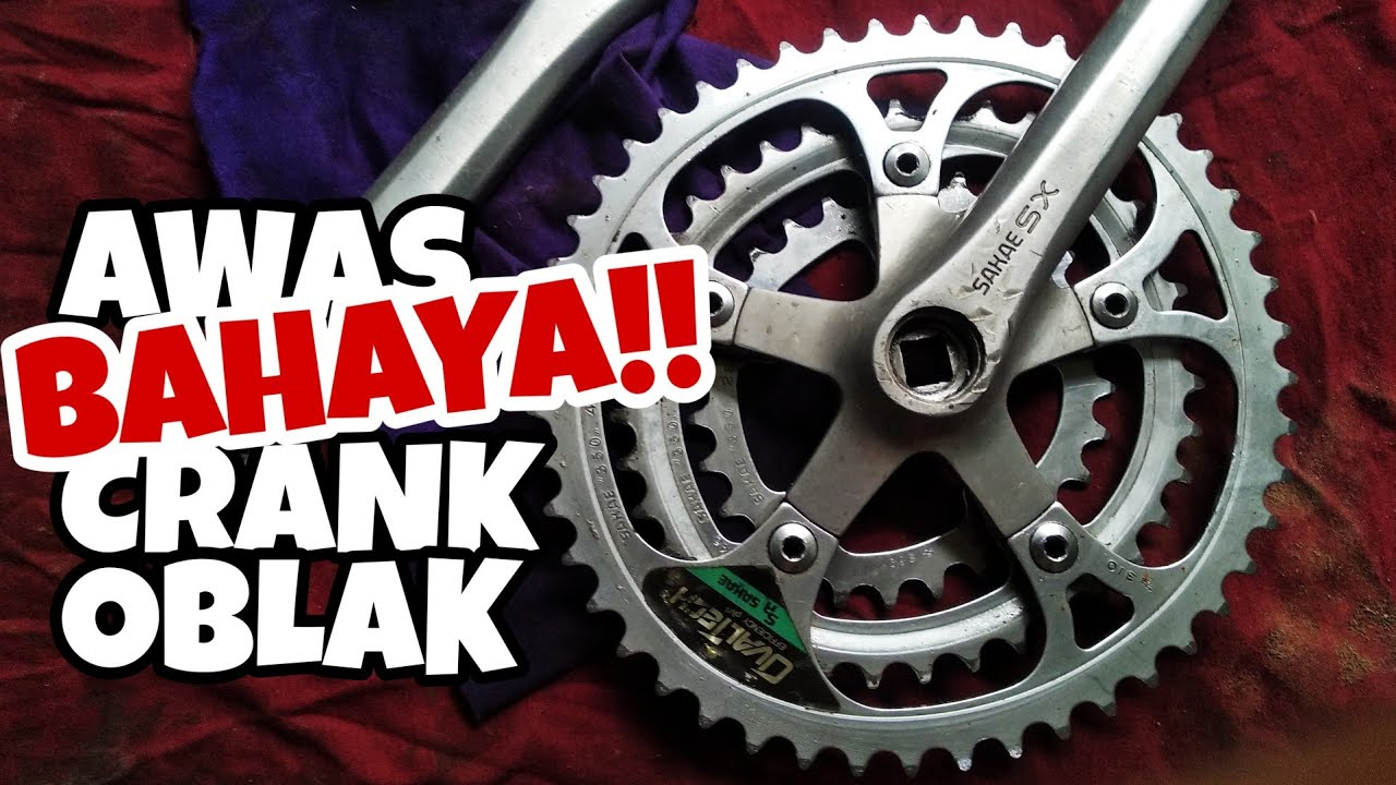 Cara mengatasi Arm Crank OBLAK Sepeda Federal - YouTube