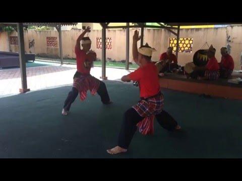 Silat. Art martial malaisien. Kota Bharu. Malaisie