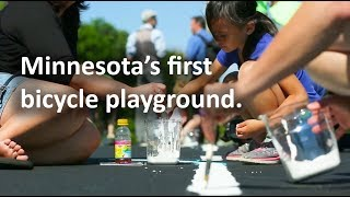 Lay the Paint: Minnesota's First Bicycle Playground
