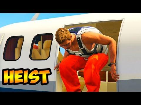 GTA 5 Full Prison Break Heist! (GTA 5 Online Heists Gameplay)