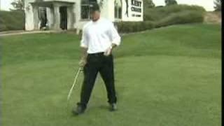 Juggling His Golf Duties