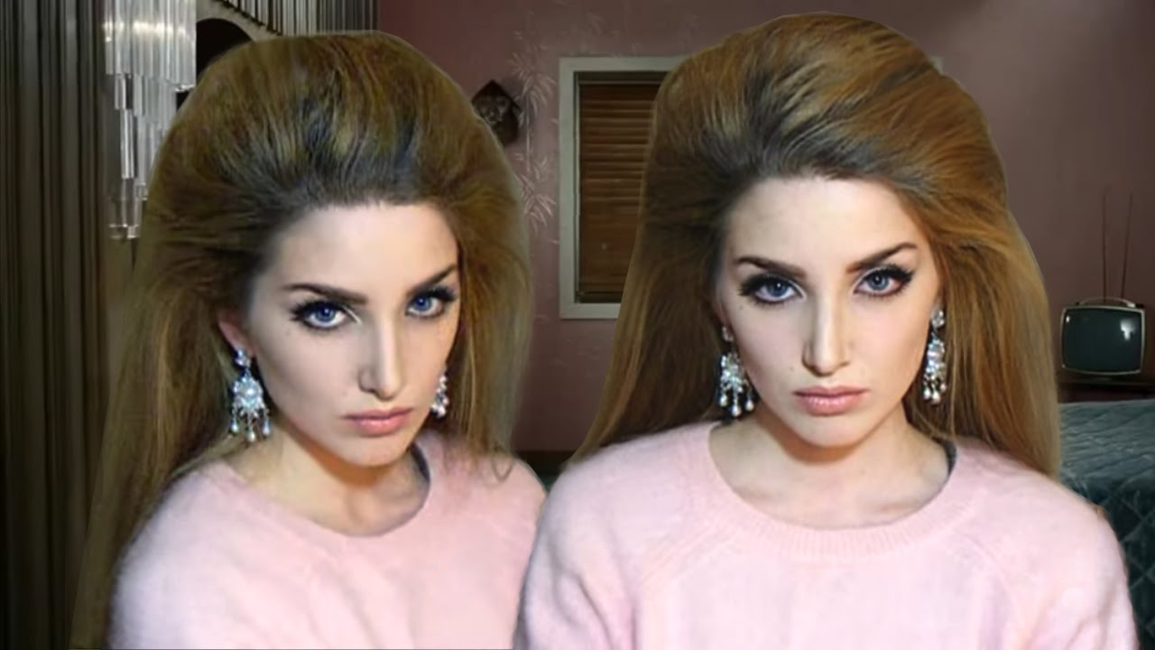 Lana Del Rey Hair Tutorial Blue Velvet Hm Campaign Youtube